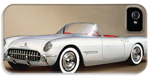 1953 Corvette Classic Vintage Sports Car Automotive Art IPhone 5s Case