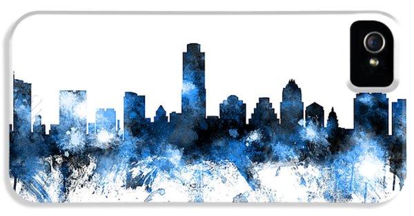 Austin Texas Skyline IPhone 5s Case