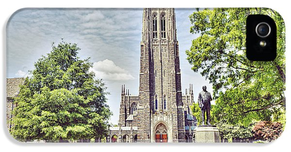 Duke Chapel In Spring IPhone 5s Case by Emily Kay
