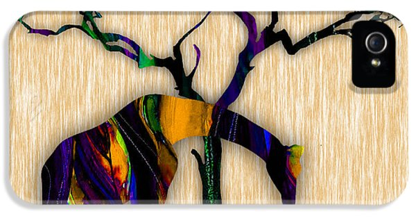 Giraffe Painting IPhone 5s Case