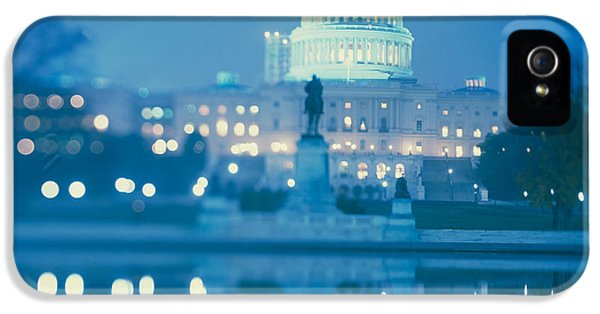 Government Building Lit Up At Night IPhone 5s Case