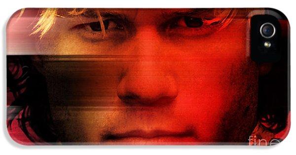 Heath Ledger IPhone 5s Case by Marvin Blaine
