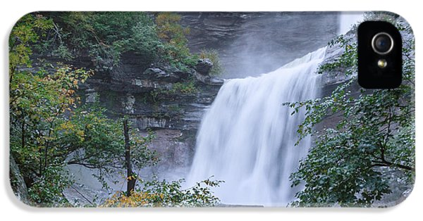 Kaaterskill Falls Square IPhone 5s Case by Bill Wakeley