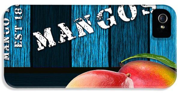Mango iPhone 5s Case - Mango Farm Sign by Marvin Blaine