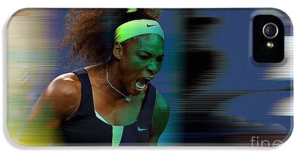 Serena Williams IPhone 5s Case by Marvin Blaine