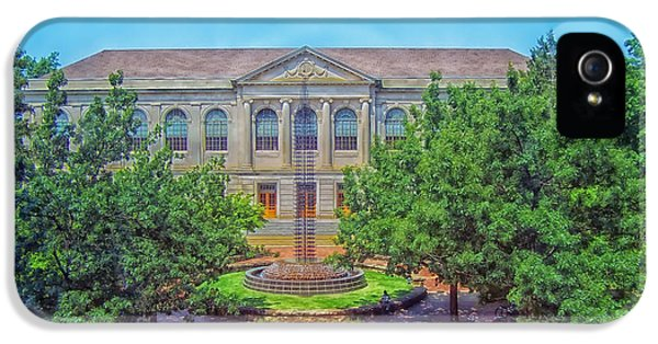 The Old Main - University Of Arkansas IPhone 5s Case by Mountain Dreams