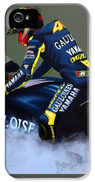 Goat iPhone 5s Case - Valentino Rossi by Paul Meijering