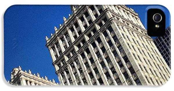 Light iPhone 5s Case - Wrigley Building- Chicago by Mike Maher