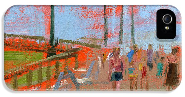 Clock iPhone 5s Case - Rcnpaintings.com by Chris N Rohrbach