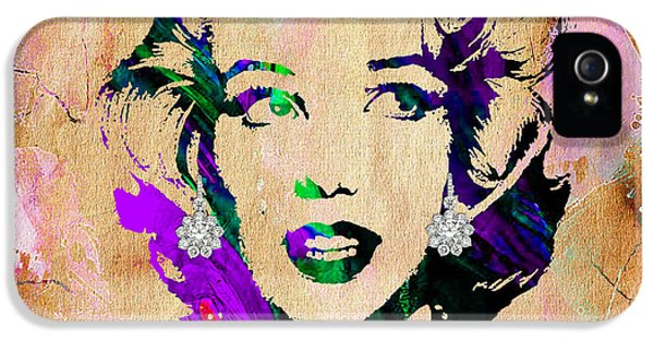 Marilyn Monroe Diamond Earring Collection IPhone 5s Case