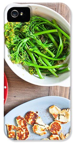 Broccoli iPhone 5s Case - Broccoli Stems by Tom Gowanlock