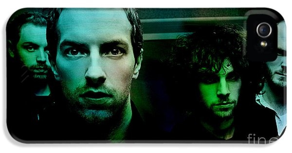 Coldplay IPhone 5s Case by Marvin Blaine