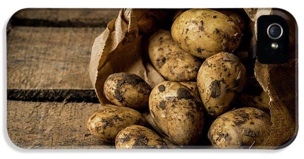 Fresh Potatoes IPhone 5s Case by Aberration Films Ltd