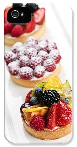 Fruit Tarts IPhone 5s Case by Elena Elisseeva