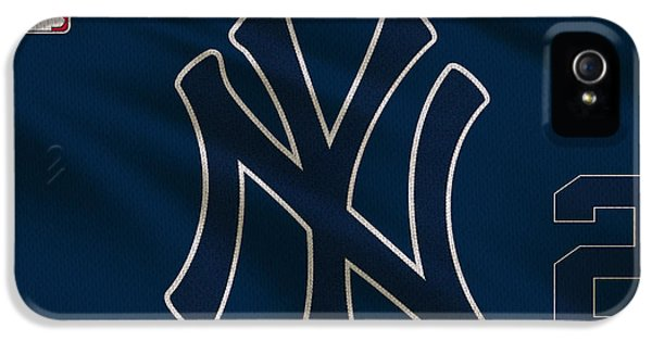 New York Yankees Derek Jeter IPhone 5s Case