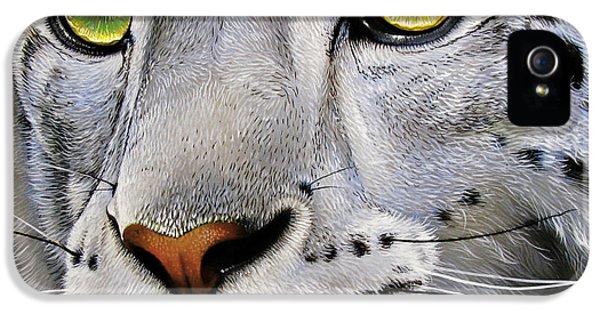 Snow Leopard IPhone 5s Case