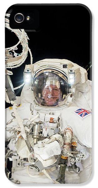 Emu iPhone 5s Case - Tim Peake's Spacewalk by Nasa
