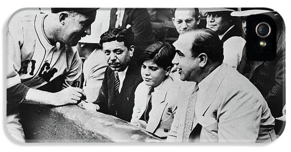 Sonny iPhone 5s Case - Al Capone (1899-1947) by Granger