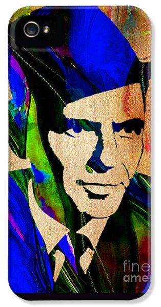 Frank Sinatra Painting IPhone 5s Case by Marvin Blaine