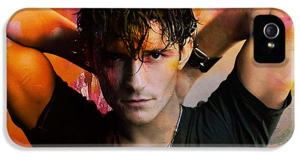 Orlando Bloom IPhone 5s Case by Marvin Blaine