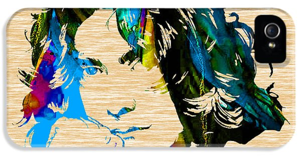 Robert Plant Collection IPhone 5s Case by Marvin Blaine