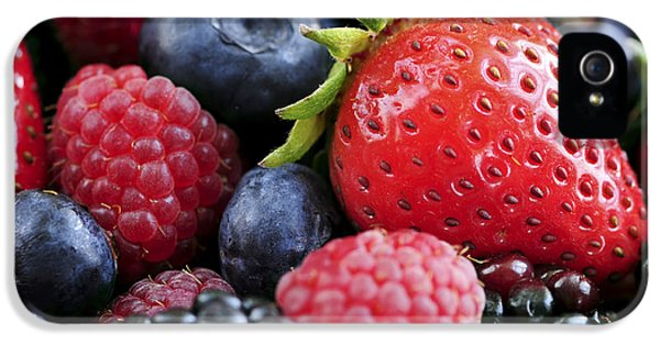 Assorted Fresh Berries IPhone 5s Case