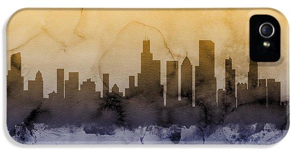 Chicago Illinois Skyline IPhone 5s Case by Michael Tompsett