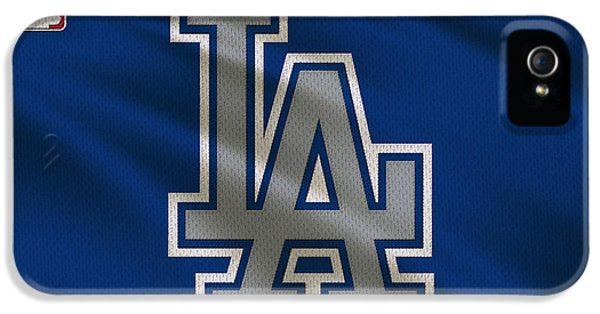 Los Angeles Dodgers iPhone 5s Case - Los Angeles Dodgers Uniform by Joe Hamilton