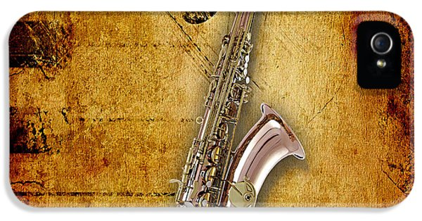 Saxophone Collection IPhone 5s Case