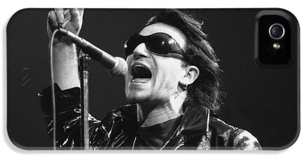 Bono iPhone 5s Case - U2 - Bono by Concert Photos