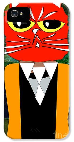 Cool Cat IPhone 5s Case