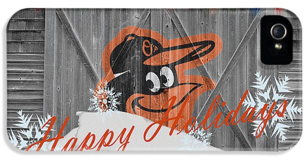 Oriole iPhone 5s Case - Baltimore Orioles by Joe Hamilton