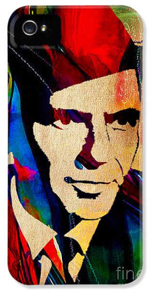 Frank Sinatra IPhone 5s Case by Marvin Blaine