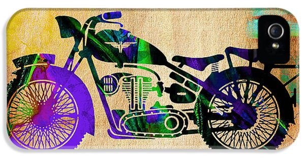 Motorcycle IPhone 5s Case by Marvin Blaine