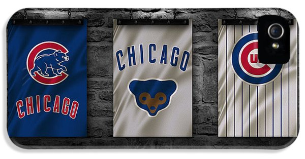 Chicago Cubs iPhone 5s Case - Chicago Cubs by Joe Hamilton