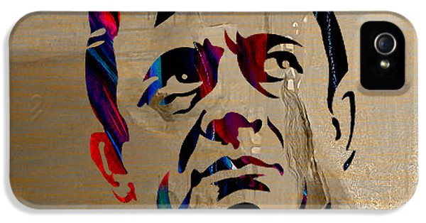 Johnny Cash IPhone 5s Case by Marvin Blaine