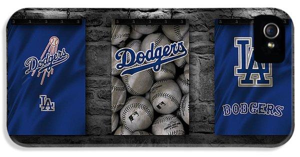 Los Angeles Dodgers iPhone 5s Case - Los Angeles Dodgers by Joe Hamilton