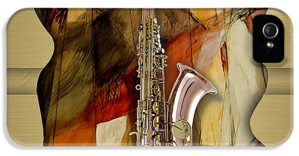 Saxophone Collection IPhone 5s Case by Marvin Blaine