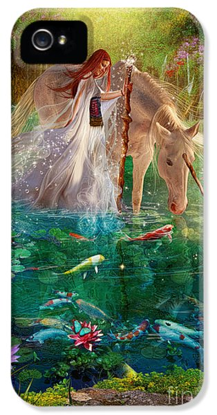 Goldfish iPhone 5s Case - A Curious Introduction by Aimee Stewart