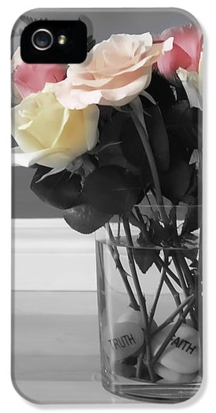 A Foundation Of Love IPhone 5s Case by Cathy  Beharriell