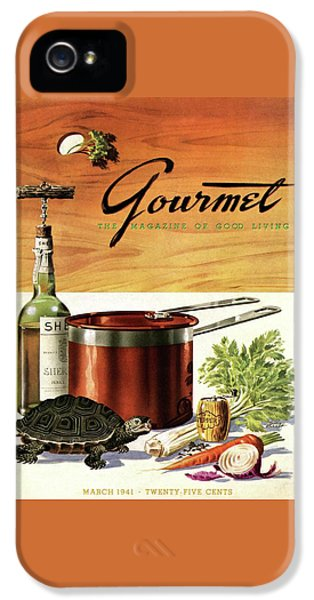 A Gourmet Cover Of Turtle Soup Ingredients IPhone 5s Case