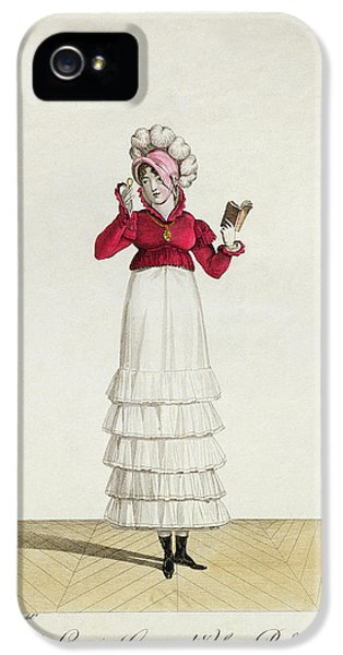 Ostrich iPhone 5s Case - A Lady In A Levantine Hat by Antoine Charles Horace Vernet