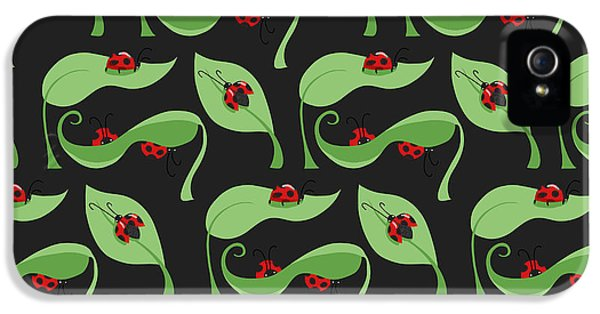 A Litte Bug IPhone 5s Case by Debra  Miller