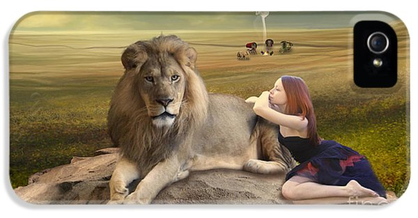 A Magnificent Friendship IPhone 5s Case by Linda Lees