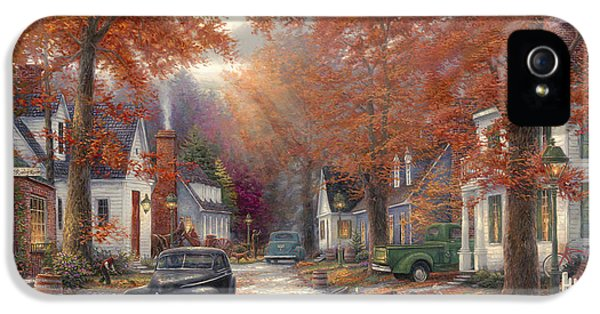 1950s iPhone 5s Case - A Moment On Memory Lane by Chuck Pinson