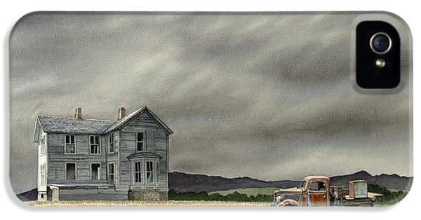 Truck iPhone 5s Case - Abandoned   by Paul Krapf