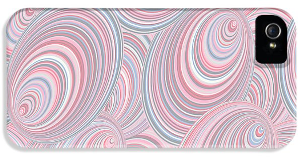 Pastel Colors iPhone 5s Case - Abstract Seamless Background Resembling by Kseniavasil