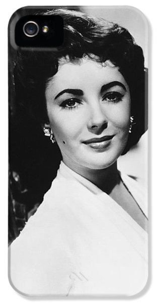 Actress Elizabeth Taylor IPhone 5s Case by Underwood Archives