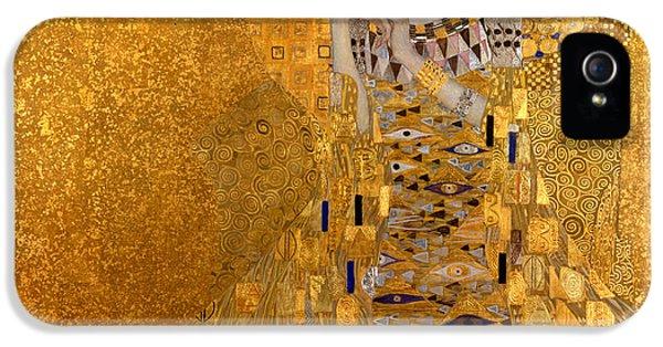 Adele Bloch Bauers Portrait IPhone 5s Case by Gustive Klimt