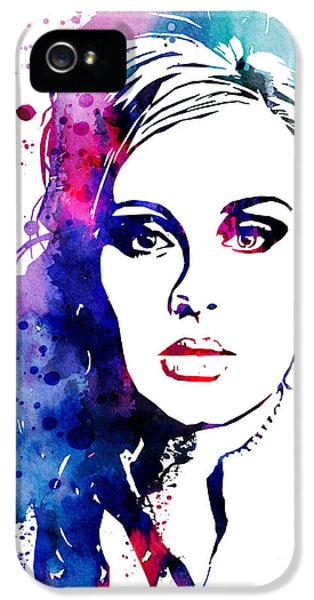 Adele IPhone 5s Case by Watercolor Girl